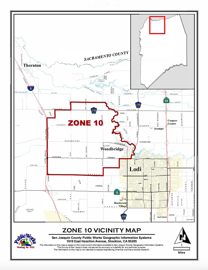 Zone 10 Map